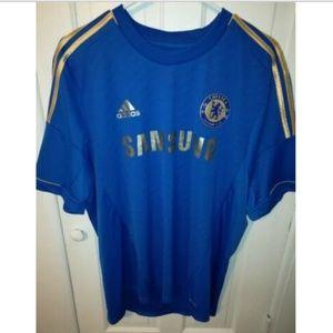 Adidas Climacool Chelsea FC Gold Champions Jersey